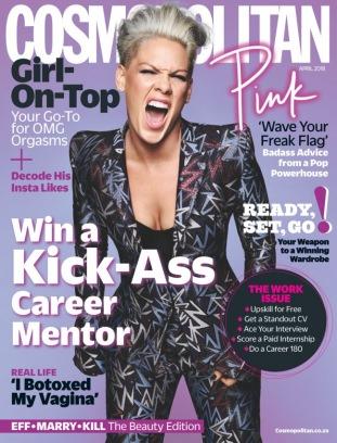 Cosmopolitan - South Africa April 2018  Magazine