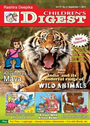 Children's Digest September Magazine