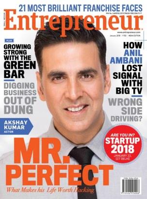 Entrepreneur magazine January 2018 Magazine