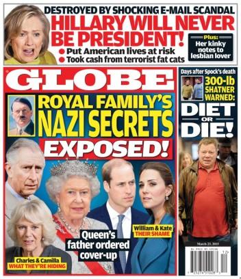 The globe celebrity magazine