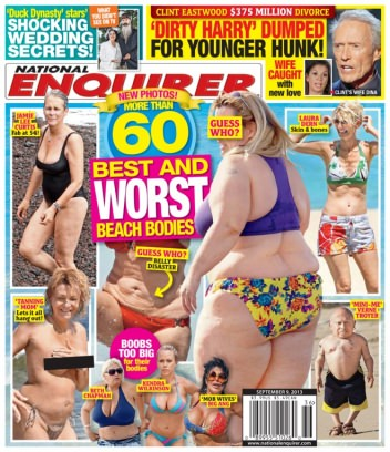 National Enquirer September 9,2013 Magazine