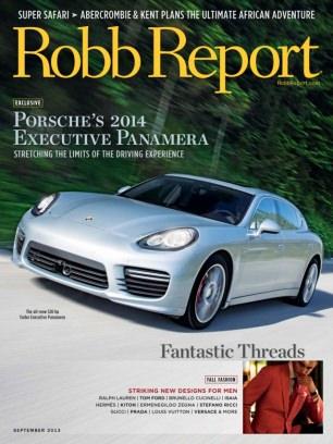 Robb Report US September 2013 Magazine