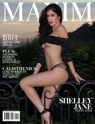 Maxim South Africa January 2018 Magazine