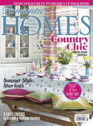 Romantic Homes Magazine Subscription On Web Ipad Iphone