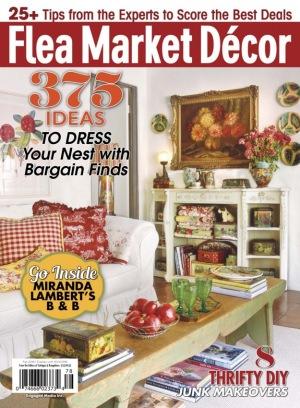 Flea market d cor magazine get your digital subscription - Home decorating magazine subscriptions plan ...