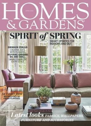 Homes & Gardens April 2018 Magazine