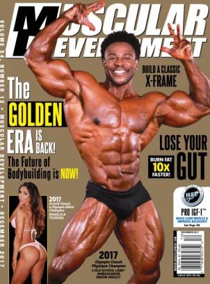 Muscular Development December 2017 Magazine