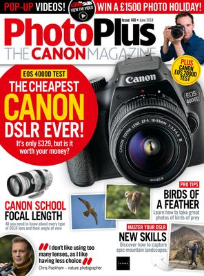 PhotoPlus : The Canon Magazine June 2018 Magazine