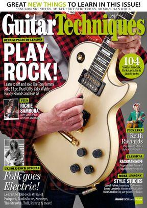 Guitar Techniques July 2018 Magazine