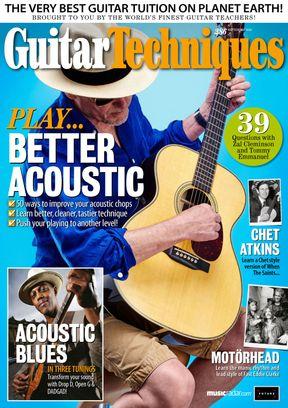 Guitar Techniques September 2018 Magazine