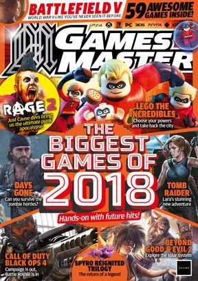 Gamesmaster July 2018 Magazine