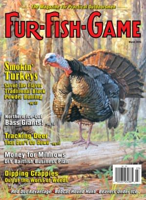 Fur fish game magazine march 2015 issue get your digital for Fur fish and game