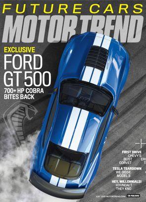 Motor Trend July 2018 Magazine
