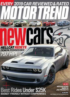 Motor Trend September 2018 Magazine