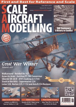 Scale Aircraft Modelling June 2018 Magazine