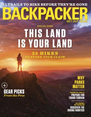 Backpacker March 2018 Magazine
