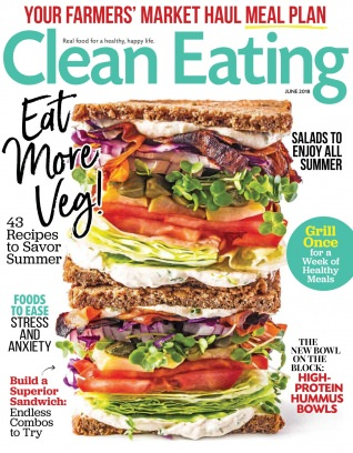 Clean Eating June 2018 Magazine