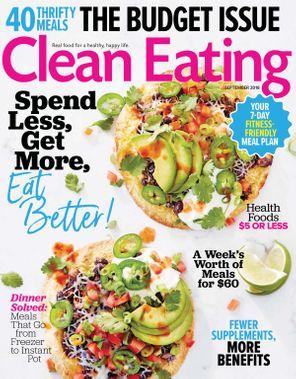 Clean Eating September 2018 Magazine