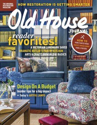 Old House Journal November - December 2017 Magazine