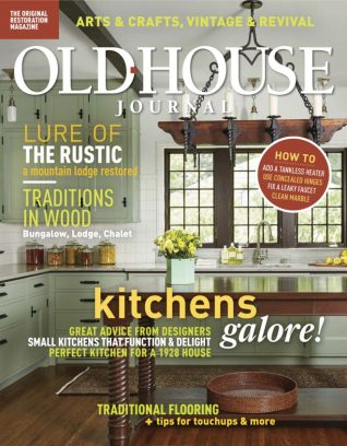 Old House Journal March - April 2018 Magazine