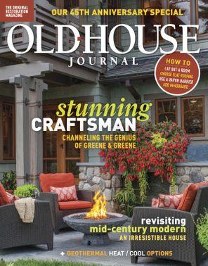 Old House Journal October 2018 Magazine