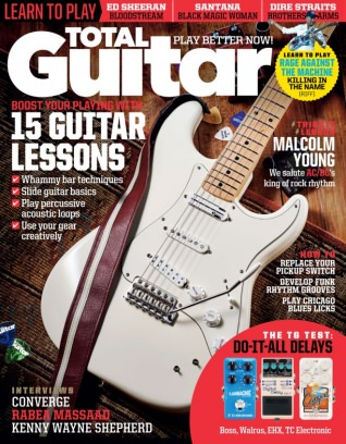 Total Guitar January 2018 Magazine