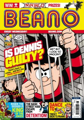 The Beano February 24,2018 Magazine