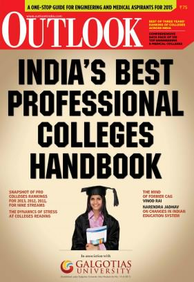 India Best professional colleges handbook 2014 Magazine