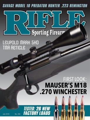 Rifle July - August 2018 Magazine