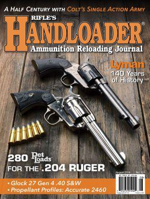 Handloader August - September 2018 Magazine
