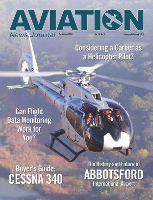 Aviation News Journal Magazine January-February 2018 Magazine