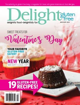 Delight Gluten Free January/February 2018 Magazine