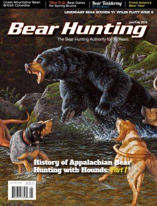 Bear Hunting Magazine January/February 2016 Magazine