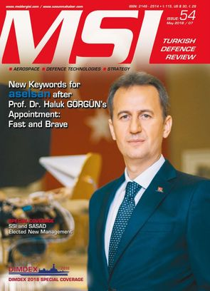 MSI Turkish Defence Review May 2018 / 07 . Issue: 54 Magazine