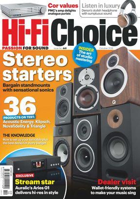 Hi-Fi Choice October 2018 Magazine