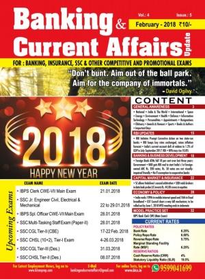 Banking & Current Affairs Update February 2018 Magazine
