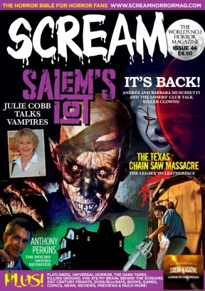 SCREAM: The Horror Magazine Issue 44 Magazine