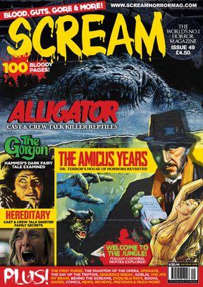 SCREAM: The Horror Magazine Issue 49 Magazine
