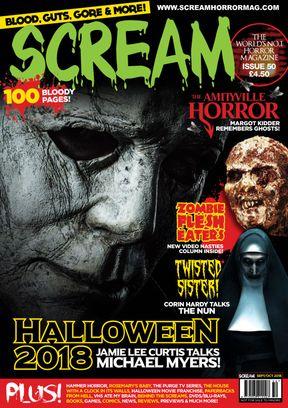 SCREAM: The Horror Magazine Issue 50 Magazine