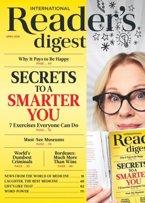 Reader's Digest International April 2018 Magazine