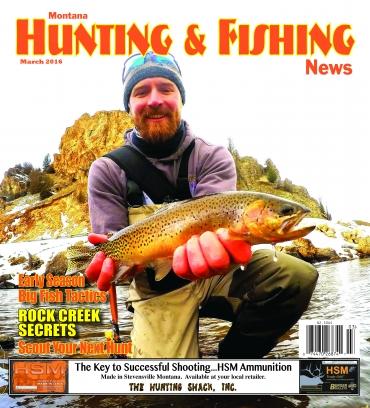 Montana hunting fishing news magazine subscription for Hunting and fishing magazine
