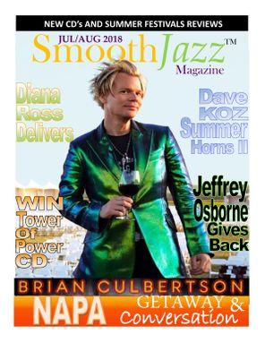 Smooth Jazz Magazine July - August 2018 Magazine