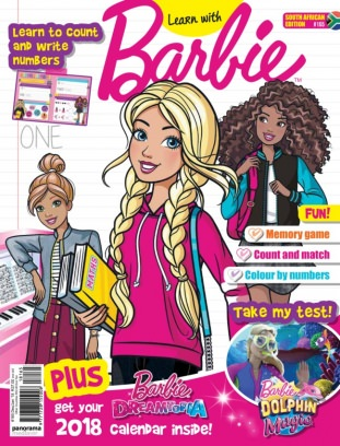 Barbie South Africa January 2018 Magazine