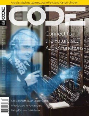 CODE Magazine November/December 2017 Magazine