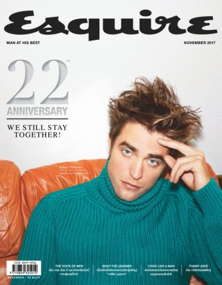 Esquire Thailand November 2017 Magazine