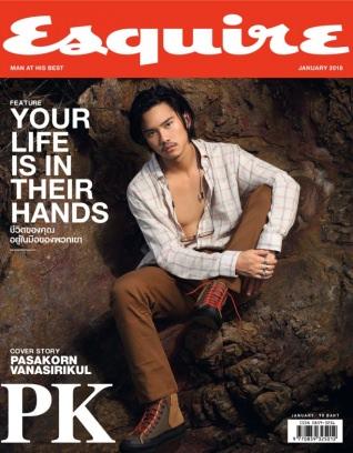 Esquire Thailand January 2018 Magazine