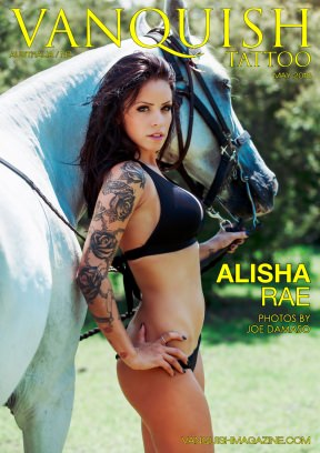 Vanquish Magazine ANZ Tattoo Special Edition – May 2018 – Alisha Rae Magazine