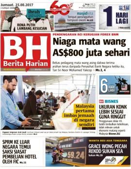 Berita Harian Malaysia Malay Magazine - Buy, Subscribe