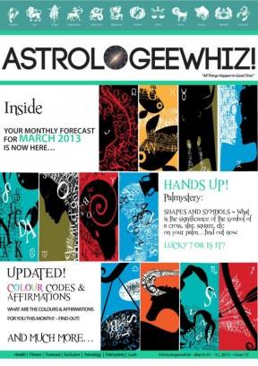 Astrologeewhiz March 2013 Magazine