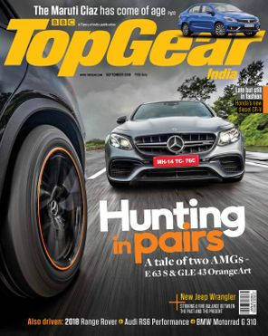 BBC TopGear India September 2018 Magazine